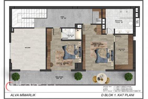 4+1 Villa in Alanya, Turkey No. 589 - 14