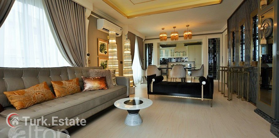 4+1 Penthouse in Alanya, Turkey No. 548