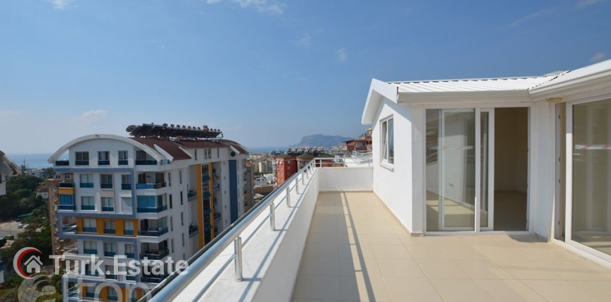 5+1 Penthouse in Alanya, Turkey No. 499