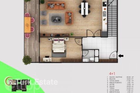 Apartment in Alanya, Turkey No. 353 - 23