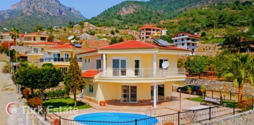 2+1 Villa in Oba, Turkey No. 573