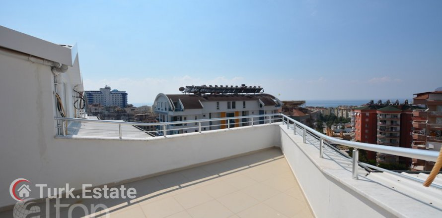 3+1 Penthouse in Alanya, Turkey No. 498