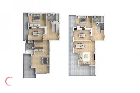4+2 Penthouse in Mahmutlar, Turkey No. 1536 - 2