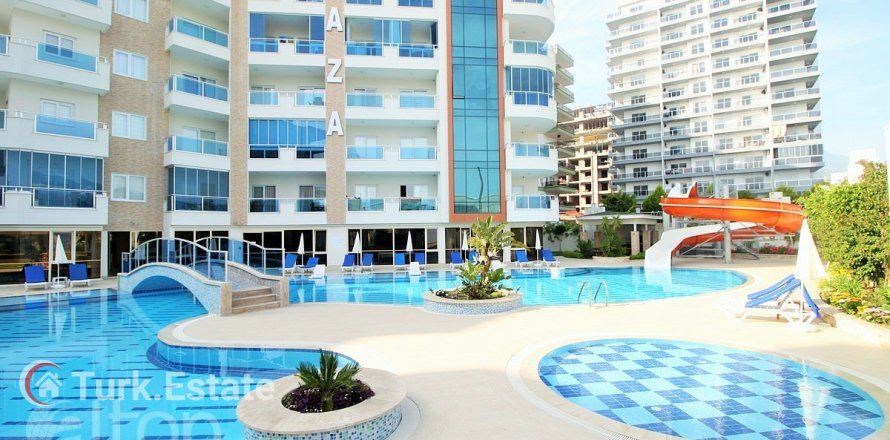1+1 Apartment in Mahmutlar, Turkey No. 612