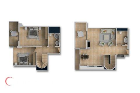 2+1 Penthouse in Mahmutlar, Turkey No. 1661 - 2