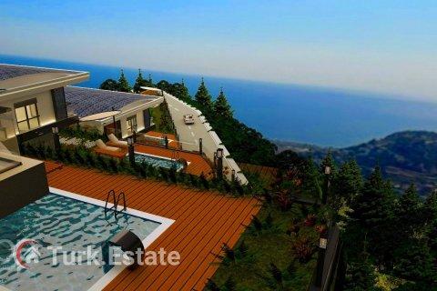 4+1 Villa in Alanya, Turkey No. 589 - 1