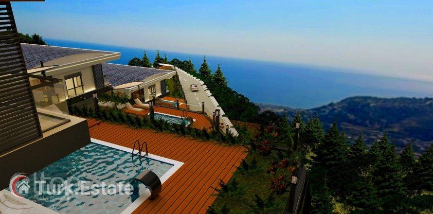4+1 Villa in Alanya, Turkey No. 589