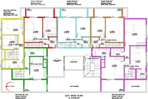 Apartment in Avsallar, Turkey No. 978 - 51