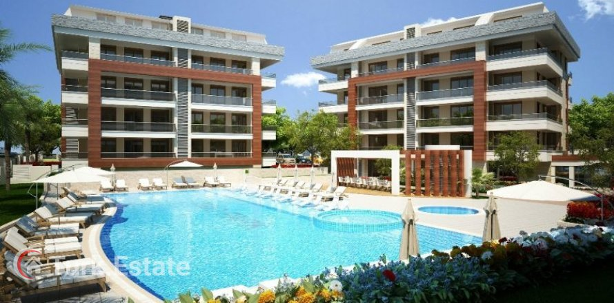 1+1 Apartment in Oba, Turkey No. 1058