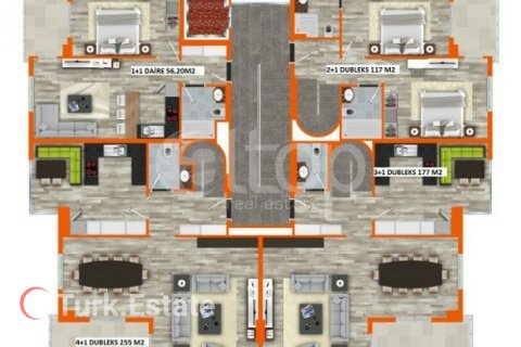Apartment in Oba, Turkey No. 935 - 34