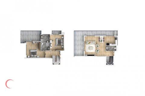 2+1 Penthouse in Mahmutlar, Turkey No. 1540 - 2