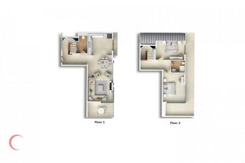 2+1 Penthouse in Mahmutlar, Turkey No. 1674 - 2