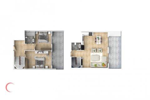 3+1 Penthouse in Mahmutlar, Turkey No. 1545 - 2