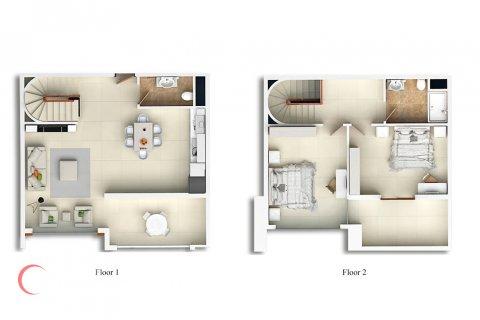2+1 Penthouse in Mahmutlar, Turkey No. 1700 - 2