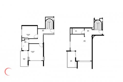 2+1 Penthouse in Mahmutlar, Turkey No. 1662 - 1