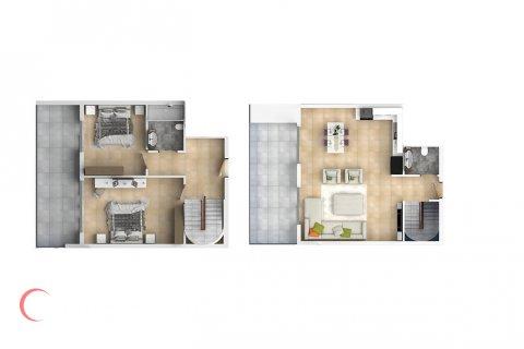 3+1 Penthouse in Mahmutlar, Turkey No. 1552 - 2