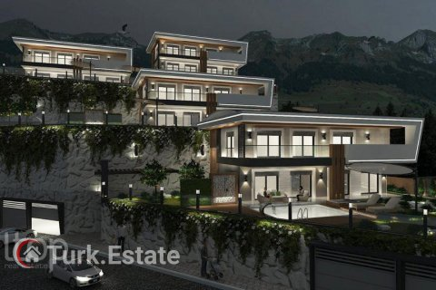 4+1 Villa in Alanya, Turkey No. 589 - 3