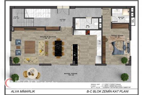 4+1 Villa in Alanya, Turkey No. 589 - 11