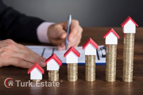 Turkish real estate has risen in price over the year by almost 10%