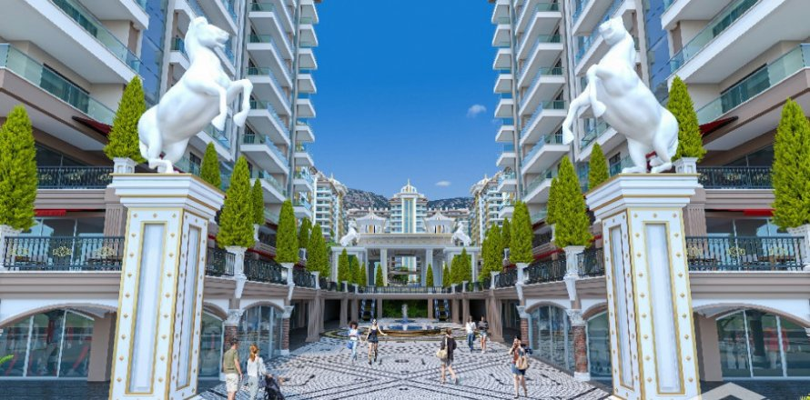 1+1 Apartment in Mahmutlar, Turkey No. 2868