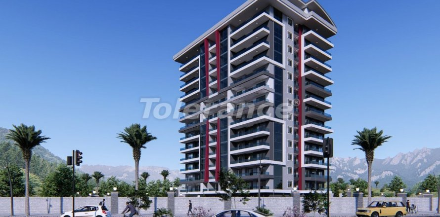 6+1 Apartment in Mahmutlar, Antalya, Turkey No. 3222