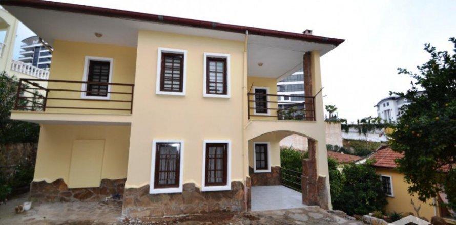3+1 Villa in Alanya, Turkey No. 4145