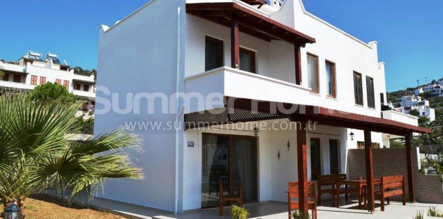 3+1 Villa in Bodrum, Mugla, Turkey No. 8363