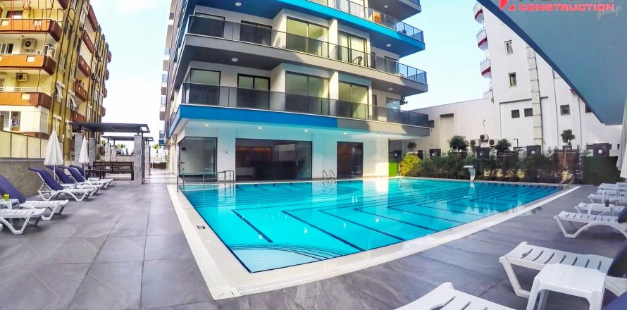 1+1 Apartment in Mahmutlar, Turkey No. 10443