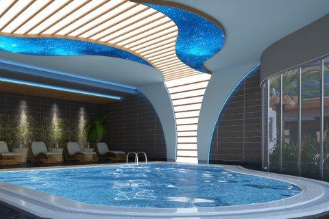 آپارتمان 1+1  در  در Mahmutlar, Antalya, ترکیه شماره 2027 - 14