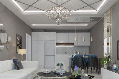 آپارتمان 1+1  در  در Mahmutlar, Antalya, ترکیه شماره 2027 - 7