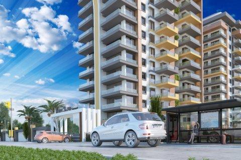 آپارتمان 1+1  در  در Mahmutlar, Antalya, ترکیه شماره 2027 - 3