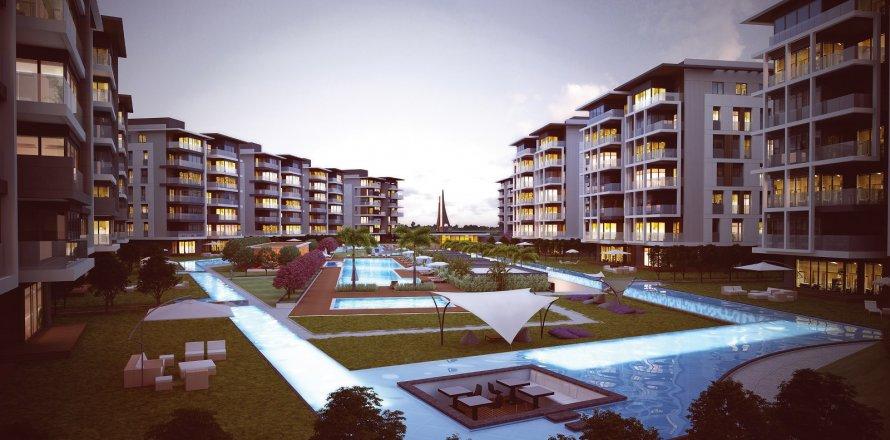 4+1 Bolig kompleks i Konyaalti, Antalya, Tyrkia Nr. 4454