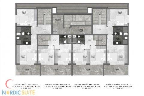 Продажа квартиры в Аланье, Анталья, Турция студия, 53м2, №832 – фото 28