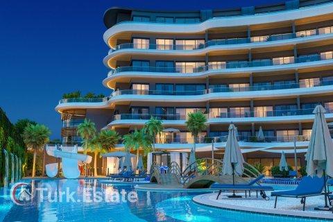 Продажа квартиры в Аланье, Анталья, Турция студия, 62м2, №334 – фото 3