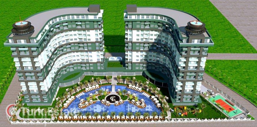 Квартира 1-х ком. в Махмутларе, Анталья, Турция №527