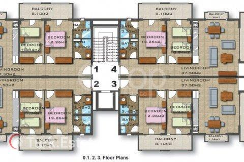 Квартира 2-х ком. в Аланье, Турция №1117 - 38