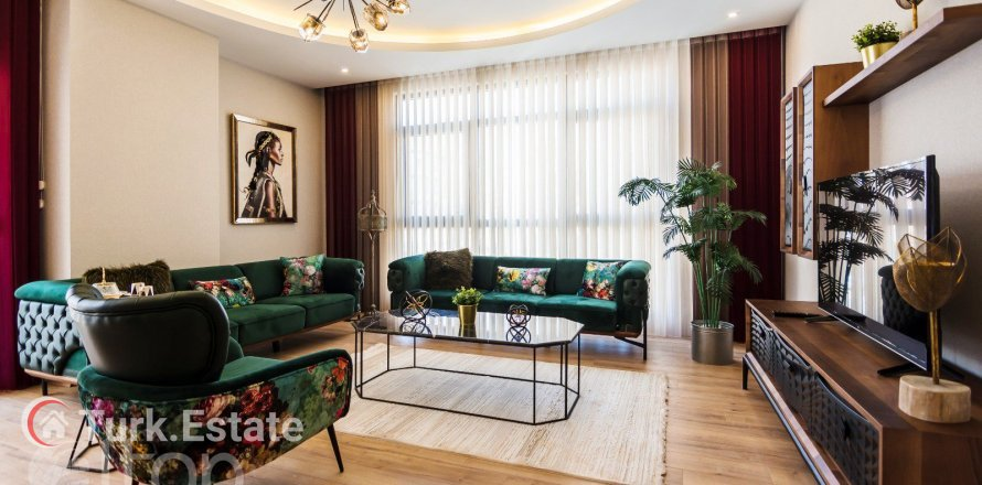 Квартира 1-х ком. в Махмутларе, Анталья, Турция №882