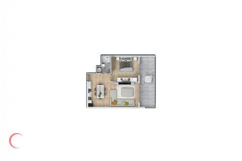 Квартира 1+1 в Махмутларе, Турция №1630 - 2