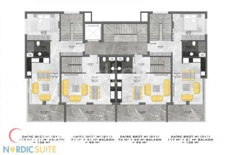 Продажа квартиры в Аланье, Анталья, Турция студия, 53м2, №832 – фото 29