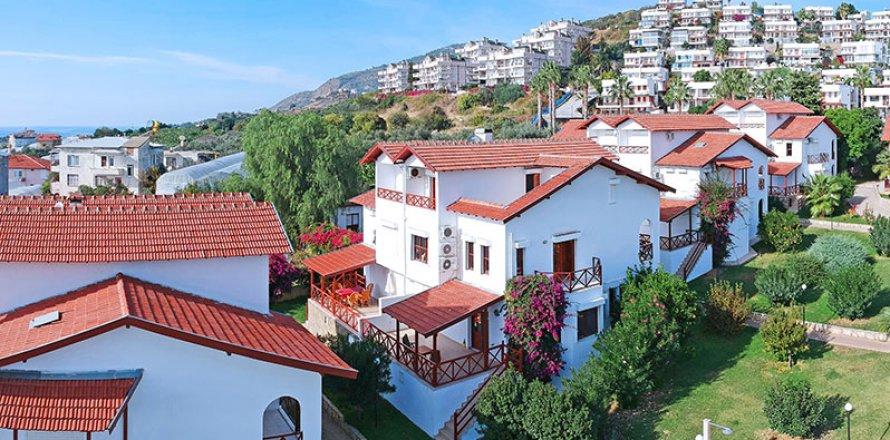 Вилла 4+1 в Демирташе, Аланья, Анталья, Турция №2016