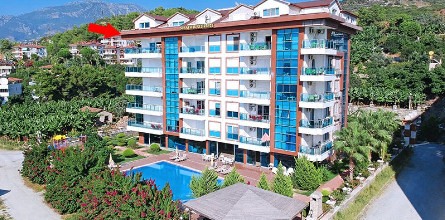 Квартира 3+1 в Каргыджаке, Аланья, Анталья, Турция №2012