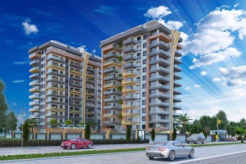Продажа квартиры в Махмутларе, Анталья, Турция 1+1, 65м2, №2027 – фото 1