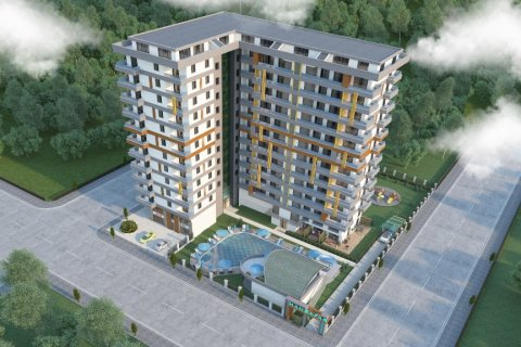 Продажа квартиры в Махмутларе, Анталья, Турция 1+1, 61м2, №2028 – фото 2