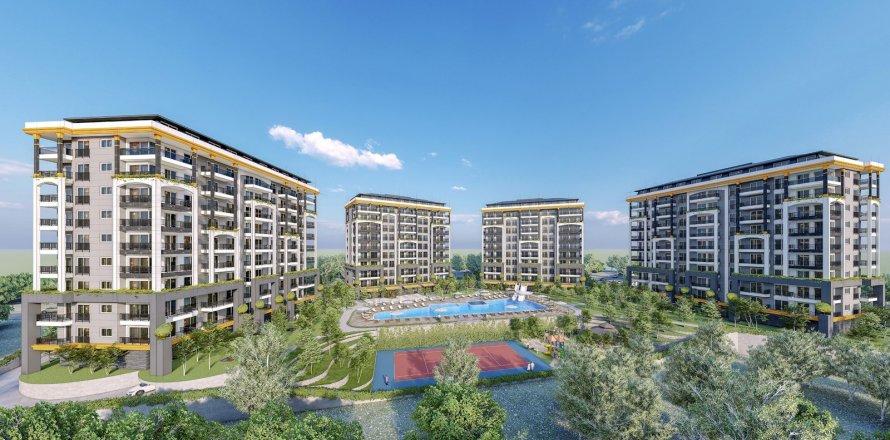 Квартира 1+1 в Авсалларе, Турция №2004