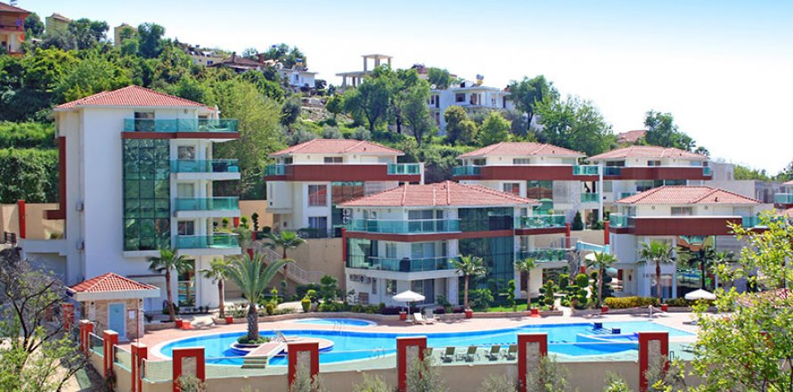 Квартира 2+1 в Каргыджаке, Аланья, Анталья, Турция №2014