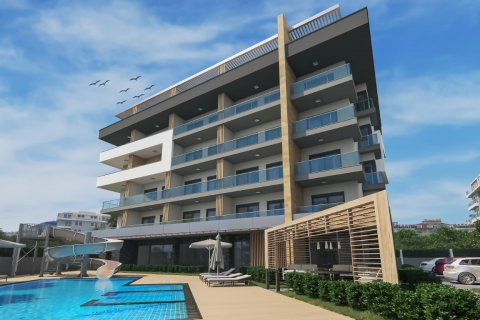Квартира 1+1 в Оба, Турция №2005 - 11