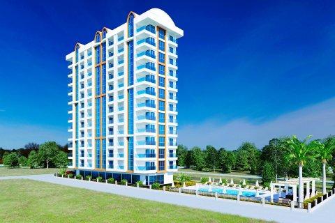 Продажа квартиры в Махмутларе, Анталья, Турция 1+1, 60м2, №2932 – фото 2