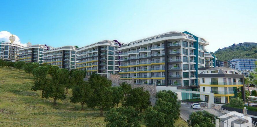 Квартира 1+1 в Каргыджаке, Аланья, Анталья, Турция №2715