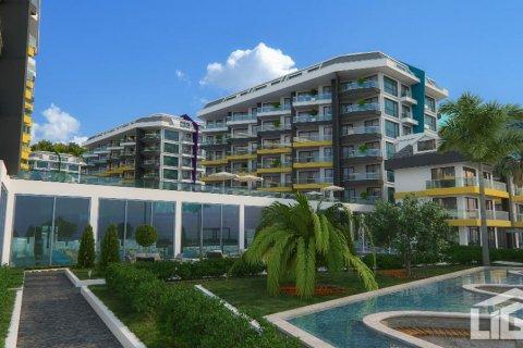 Продажа квартиры в Каргыджаке, Аланья, Анталья, Турция 1+1, 70м2, №2715 – фото 3