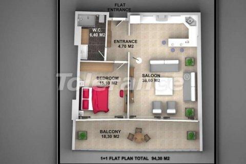 Продажа квартиры в Аланье, Анталья, Турция 1+1, 62м2, №3720 – фото 5